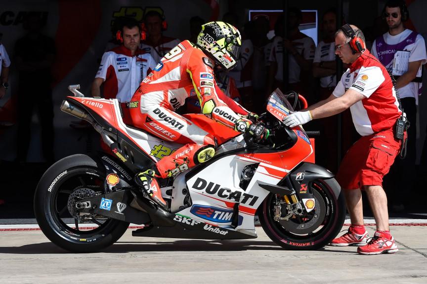 Andrea Iannone, Ducati Team, ARG Q2