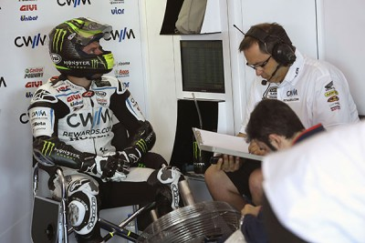 "Crutchlow: ""I nearly hit him…"""