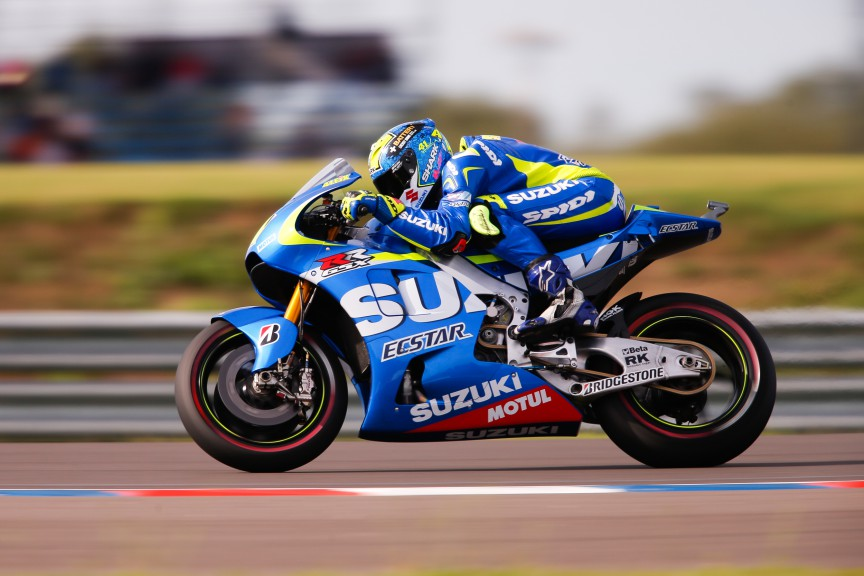 Aleix Espagraro, Team Suzuki Ecstar, ARG Q2