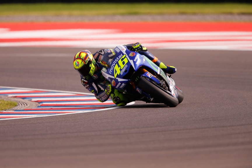 Valentino Rossi, Movistar Yamaha MotoGP, ARG Q2