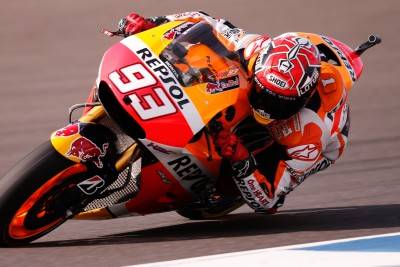 Marquez takes pole by over 0.5s at #ArgentinaGP
