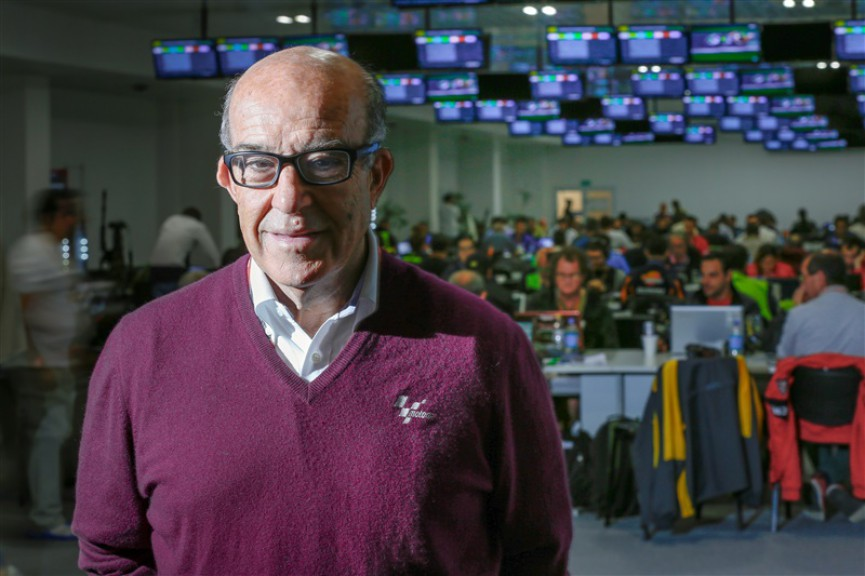 Dorna Sports CEO Carmelo Ezpeleta