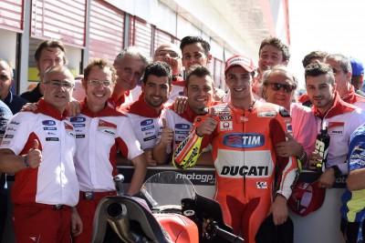 Iannone: 'Erste Startreihe war eines unserer Ziele'