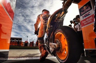"Marquez: ""We used a three-tyre strategy and it worked well"""