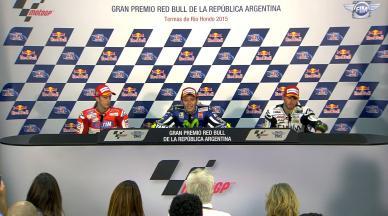 Conferencia de Prensa post carrera: MotoGP Argentina