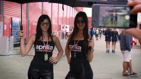 The beautiful paddock girls added some extra glamour to the occasion at the Gran Premio Red Bull de la República Argentina.