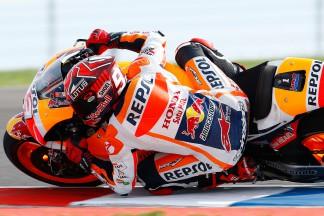 """Marquez: """"Unfortunately we touched and I crashed"""""""