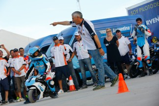 Chicho Lorenzo's rider development project in South America