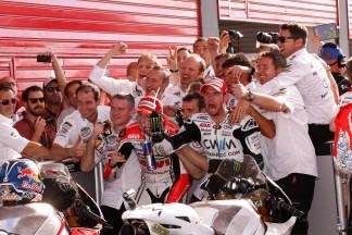Crutchlow signe son premier podium avec CWM LCR Honda