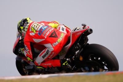 Iannone à deux doigts du podium en Argentine