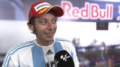 Rossi: 'E siamo già a 2!'