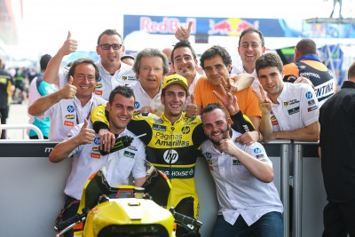 "Rins: ""I am very happy with this result"""