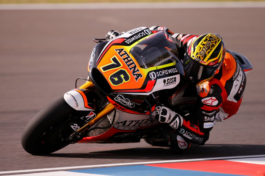 Loris Baz, Athinà Forward Racing, Argentina