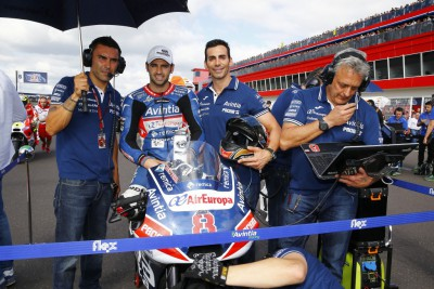 """Barbera: """"We touched a little bit, but this is racing"""""""
