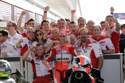 "Dovizioso: ""Once again we managed to get onto the podium"""