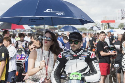 "Laverty: ""At the beginning of the race I almost crashed"""