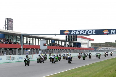 The FIM CEV Repsol fires up its motors