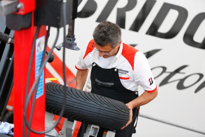 Jerez: One of the less severe circuits on tyres