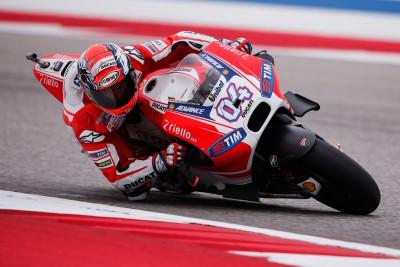 """Dovizioso: """"La GP15 va bien en todos los circuitos'"""
