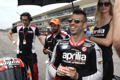 "Melandri: ""I hope to take another step forward"""