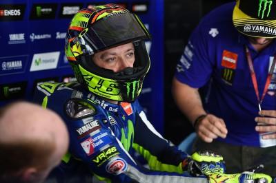 """Rossi: """"¡El ambiente en Jerez es fantástico!"""""""