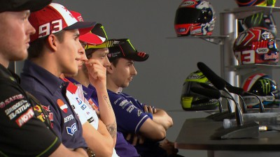 "Rossi: ""I will give Marc less kisses from now on"""