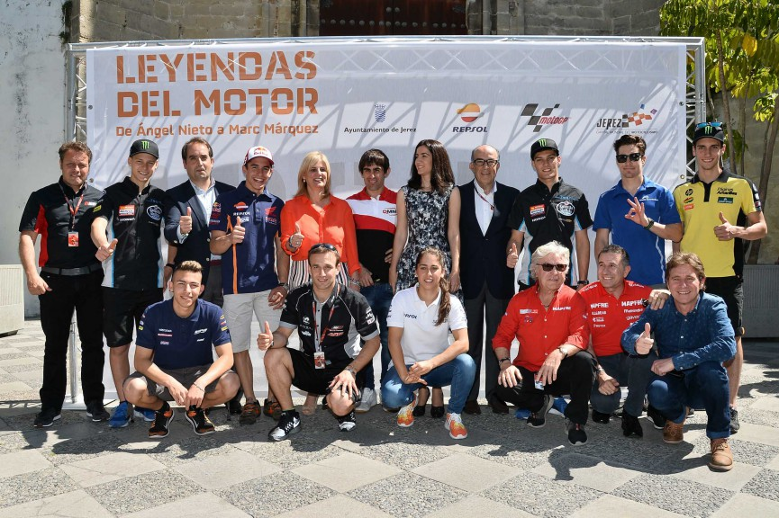 Exhibition Opening Motorsport Legends1969-2015, Jerez Pre-Event