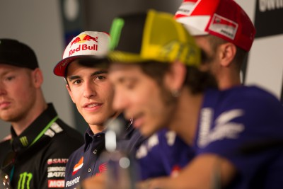 Rossi and Marquez aren't taking the bait