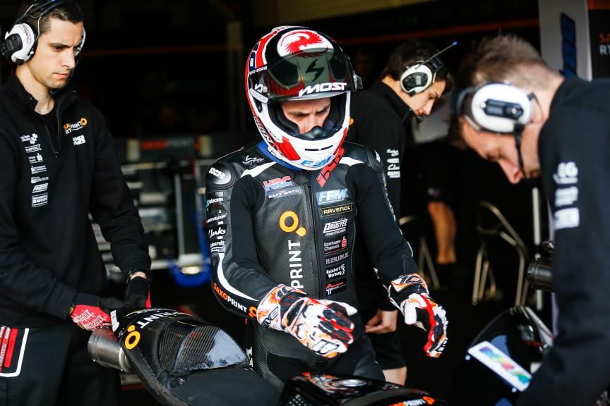 Alexis Masbou, Saxoprint RTG, Jerez FP2