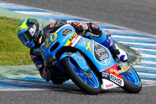 Quartararo shows potential to top Moto3™ FP2