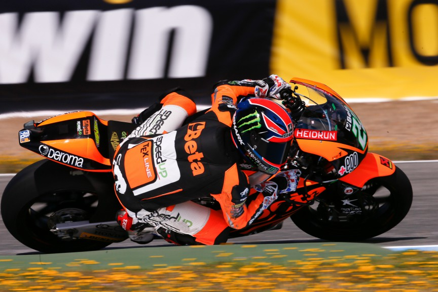 Sam Lowes, Speed Up Racing, Jerez FP2