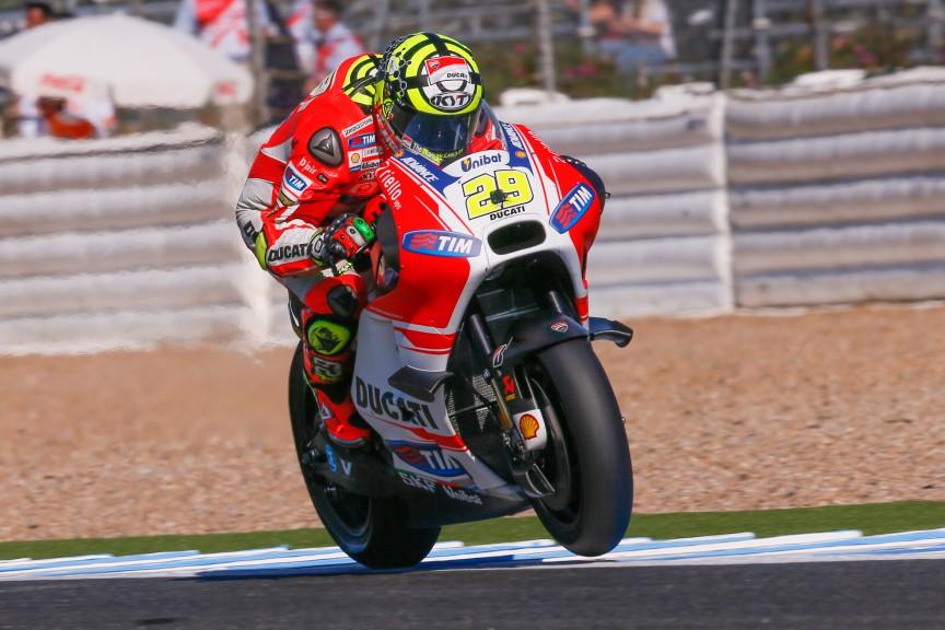 Andrea Iannone, Ducati Team, Jerez FP2