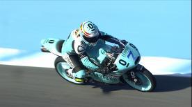 Der Spanier Efren Vazquez hat sich beim Gran Premio bwin de España die Bestzeit gesichert und blieb vor Fabio Quartararo und Isaac Viñales.