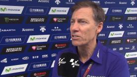 En una entrevista con motogp.com, el director de Yamaha Factory Racing, Lin Jarvis, confirma que Jorge Lorenzo seguirá siendo piloto de Yamaha en la temporada 2016.