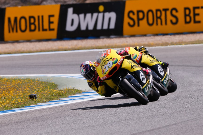 Luis Salom, Alex Rins, Paginas Amarillas HP 40, Jerez FP2