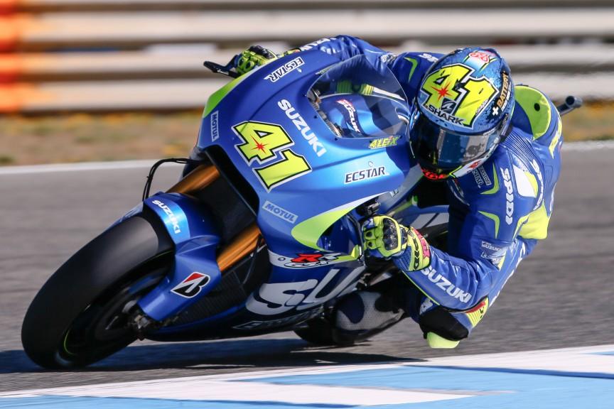 Aleix Espargaro, Team Suzuki MotoGP, Jerez FP2