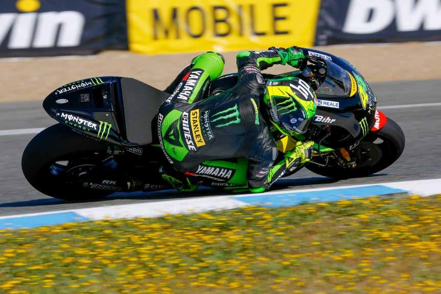 Pol Espargaro, Monster Yamaha Tech 3, Jerez FP2