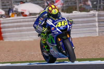 Valentino Rossi hatte am Freitag in Jerez zu kämpfen. Der WM