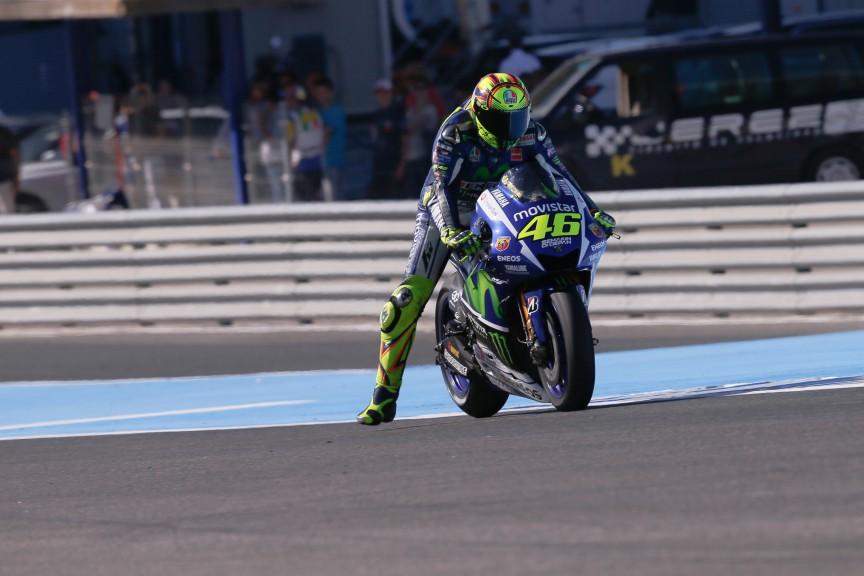 Valentino Rossi, Movistar Yamaha MotoGP, Jerez FP2