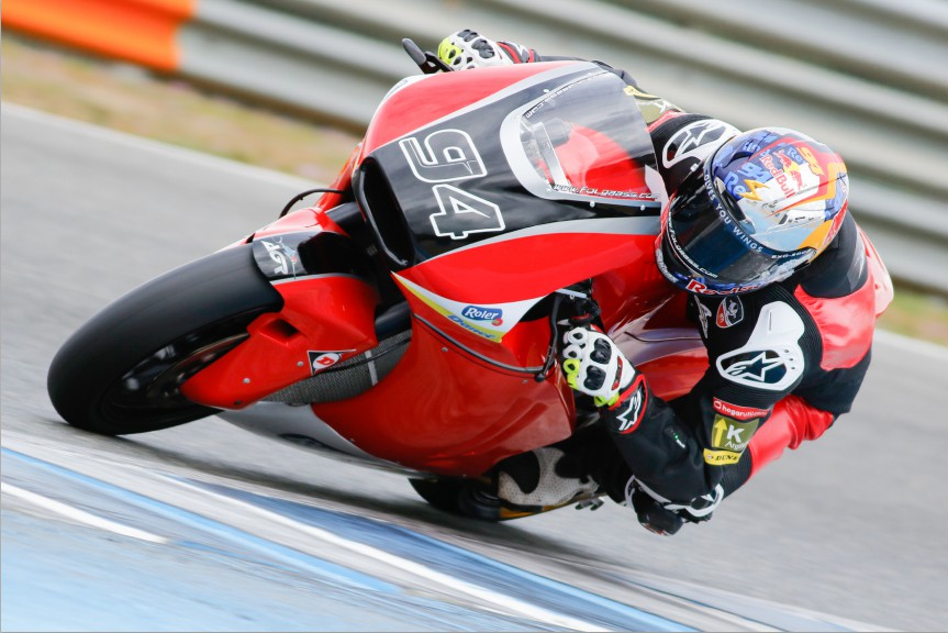 Jonas Folger, AGR Team, Jerez