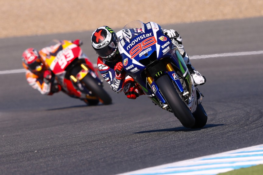 Jorge Lorenzo, Movistar Yamaha MotoGP, Jerez FP2