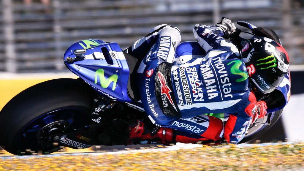 Jorge Lorenzo, Movistar Yamaha MotoGP, Jerez FP1