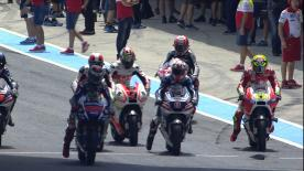 2ª sesión de Entrenamientos Libres del Campeonato del Mundo de MotoGP™ en #SpanishGP.