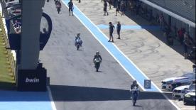 2ª sesión de Entrenamientos Libres del Campeonato del Mundo de Moto3™ en #SpanishGP.