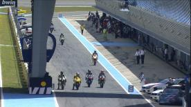 2ª sesión de Entrenamientos Libres del Campeonato del Mundo de Moto2™ en #SpanishGP.