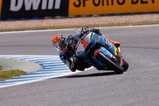Rabat holt Moto2™-Pole von Jerez, Folger Reihe eins