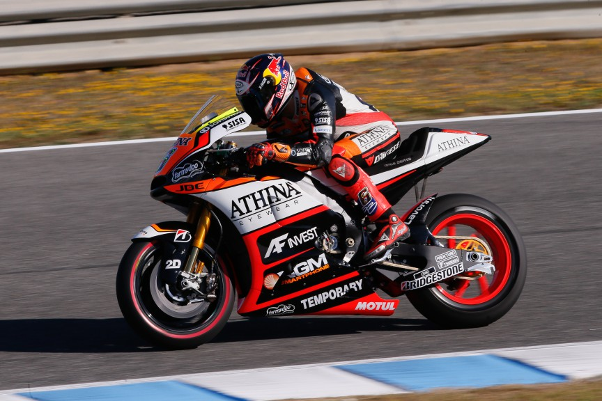 Stefan Bradl, Athinà Forward Racing, Jerez