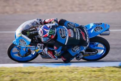 Quartararo mit seiner ersten Pole Position in der Moto3™ Wel