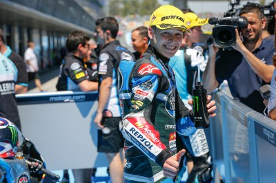 Quartararo fulfils potential to take maiden Moto3™ pole