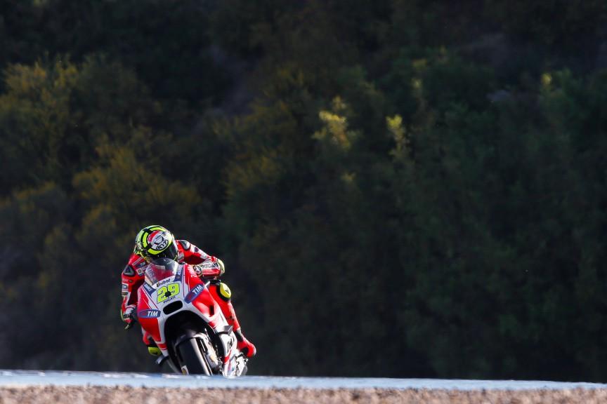 Andrea Iannone, Ducati Team, Jerez Q2